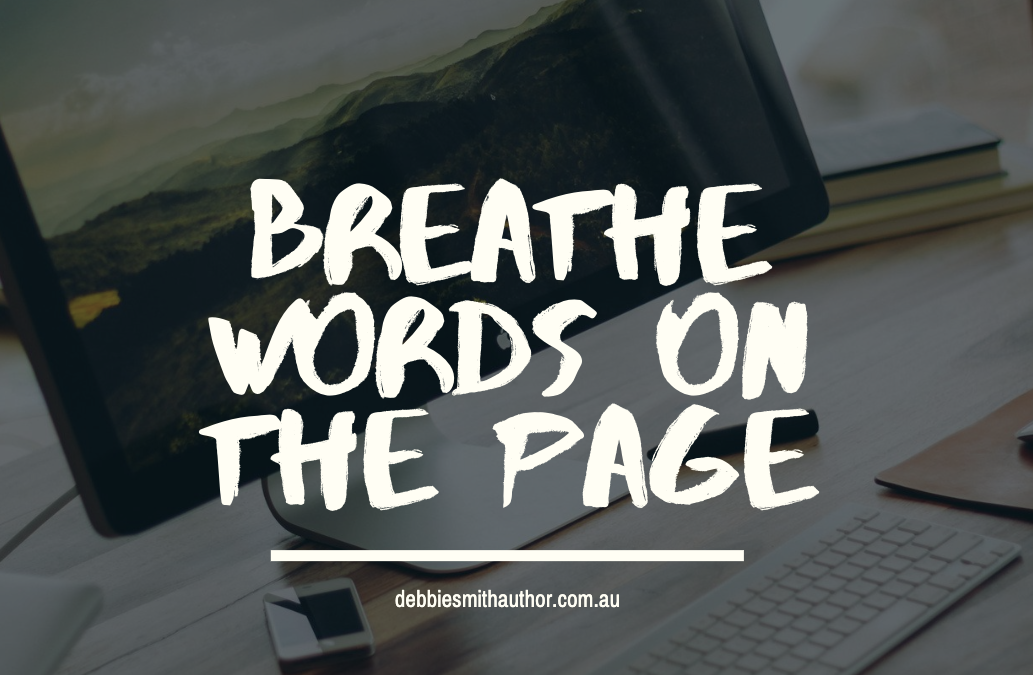 BREATHE WORDS ON THE PAGE